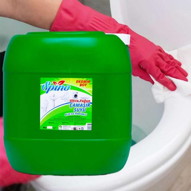 Ultra Yoğun Çamaşır Suyu Parfümlü Spino 30  LT