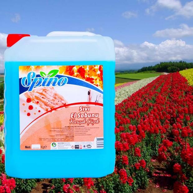 Sıvı El Sabunu Karışık Çiçek Spino 5 LT
